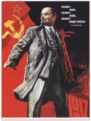 Lenin viveu, vive e viverá